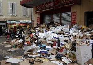 Мусорщики Марселя рассматривают возможность прекращения забастовки