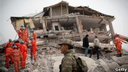 Турция примет иностранную помощь после землетрясения