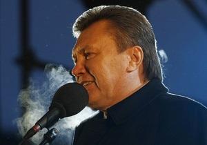 Янукович уличил предыдущую власть в разворовывании средств, полученных по Киотскому протоколу