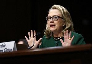 Госдепартамент США ничего не знает о письме Клинтон к Тимошенко