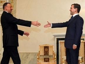 Президенты России, Азербайджана и Армении обсуждают за ужином ситуацию на Кавказе
