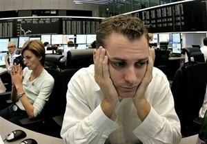 Рынки: Украинские индексы падают рекордными в своей истории темпами
