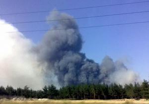 МЧС: Крупный лесной пожар в Луганской области локализован