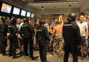 Киевская милиция назвала причины потасовки между Беркутом и фанами Спартака