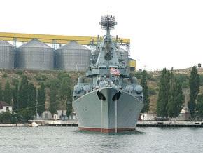Крейсер ЧФ Москва провел учения по нанесению ракетного удара в Средиземном море