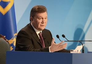 Янукович поручил юристам изучить легитимность принятия законов во время выездного заседание Рады