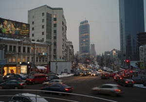 Движение транспорта на Крещатике перекроют на полтора месяца в связи с Евро-2012