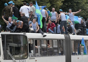 Фотогалерея: День ВДВ. Массовые гуляния российских десантников
