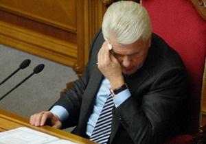 Литвин рассказал, почему оппозиция сорвала подготовку работы новой Рады
