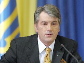 Сегодня Ющенко проведет большую пресс-конференцию