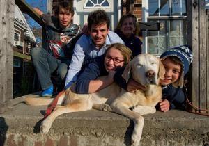 В США пес по кличке Сэнди вернулся домой спустя две недели после одноименного урагана
