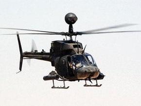 В США потерпел крушение армейский вертолет