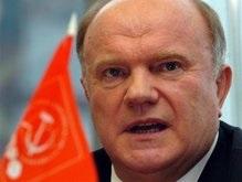 Зюганов заявил, что 83% населения Украины - русскоязычные