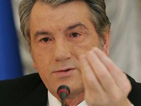 Ющенко возложил ответственность за преодоление эпидемии на правительство