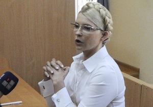 Суд допустил двух украинских адвокатов к защите Тимошенко, а американским - отказал