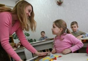 Рада запретила проверку уровня знаний во время приема детей в школы