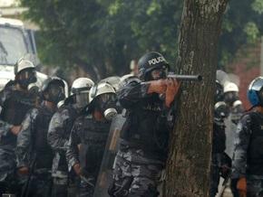 В Гондурасе произошли столкновения между полицией и сторонниками свергнутого президента