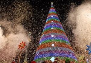 В Украине наступил Новый 2012 год