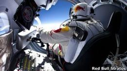 Австриец совершит рекордный прыжок из стратосферы