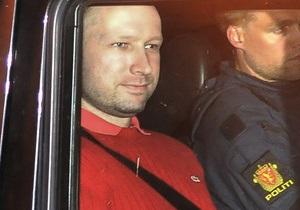 Брейвику разрешили лично присутствовать на суде