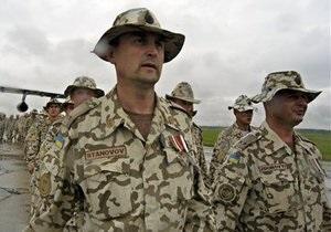 Рада поддержала решение Януковича отправить украинских миротворцев в Кот-д Ивуар