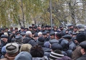 В Донецке чернобыльцы начали голодовку: глава местного Пенсионного фонда ушел в отставку