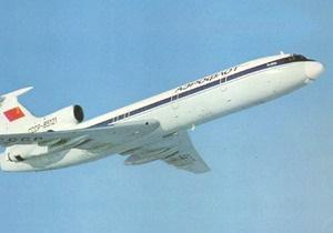В России приостановили полеты Ту-154Б