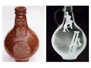 В Британии найдена древняя бутылка с гвоздями, волосами и мочой