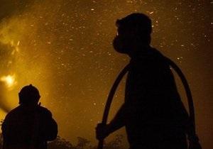 Все пожарные расчеты Львова привлечены к тушению гостиницы