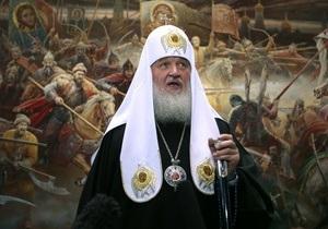 Патриарх Кирилл поздравил христиан с Рождеством Христовым