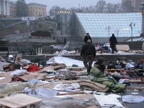 МВД опровергает факт причастности к разгрому палаточного городка на Майдане