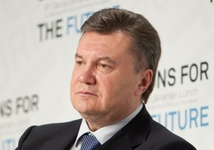Янукович прокомментировал резолюцию ПАСЕ по Украине