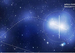 Хаббл получил трехмерное изображение  пуповины  из черной материи