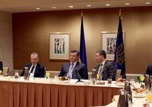 Речь идет о революции: Янукович зовет американский бизнес в Украину