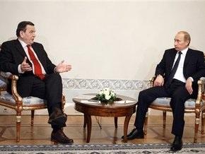 Путин обсудил со Шредером строительство обходного газопровода Nord Stream