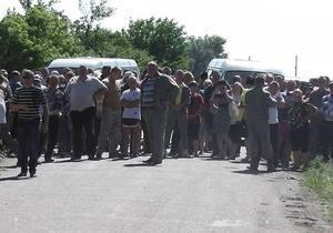 Железные трубы и топоры изъяты у участников противостояния в Николаевской области