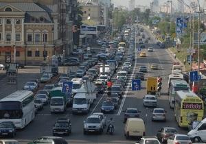 Власти Киева намерены выделить отдельную полосу для общественного транспорта