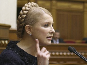 Тимошенко примет необходимые антикризисные нормы в обход парламента
