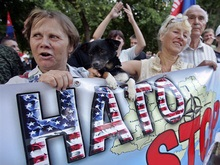 Левые проведут акцию протеста против приезда Буша