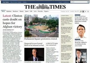 После введения платного контента сайт The Times потерял 67% читателей
