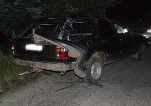 В Ровенской области преследование авто сотрудниками ГАИ закончилось гибелью водителя