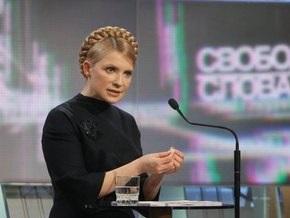 Тимошенко заявила, что не допустит введения цензуры