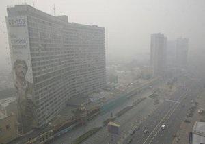 Дым покинет Москву не раньше среды