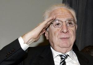 Умер бывший президент Италии Франческо Коссига