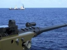 В Сомали освободили судно, захваченное пиратами