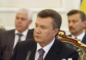 У Януковича появились претензии к некоторым губернаторам