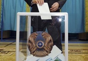 На выборах в Казахстане проголосовало 75% избирателей