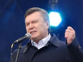 Янукович пригрозил Тимошенко новыми акциями протеста
