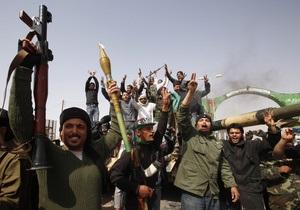 Ливийские повстанцы взяли под контроль Адждабию