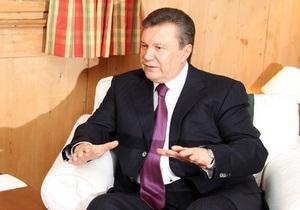 Янукович ждет от Shell эффективных действий по разведке и добыче сланцевого газа в Украине